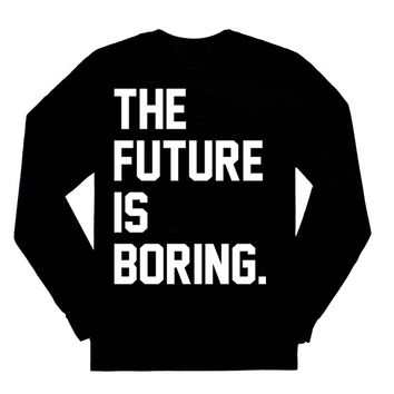 the future is boring