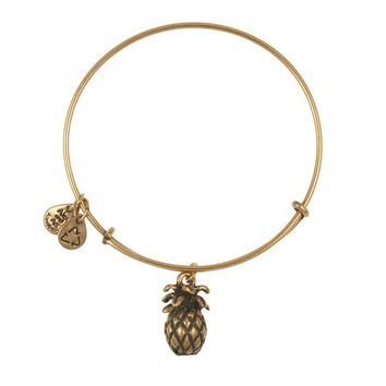 Pineapple Charm Bangle