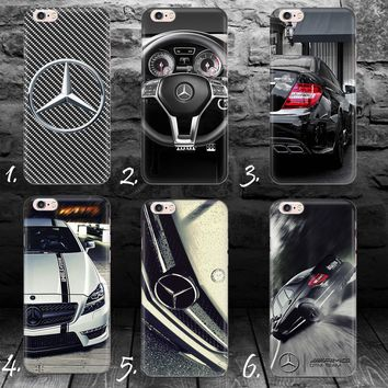 Mercedes Benz AMG silicone GEL iPhone 4 4s 5c 5s SE 6 6s 7 8 plus case cover