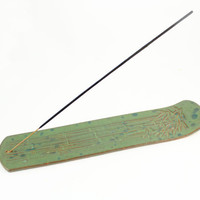 Incense Burner - Unique Bamboo Design - Incense Stick Holder