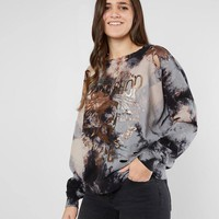 Affliction American Customs Thunder Sweatshirt - Women's Sweatshirts in Warren Wash | Buckle