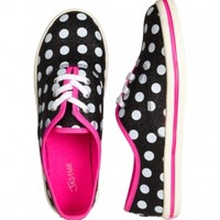 Dot Canvas Sneakers
