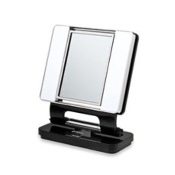 OttLite® Natural Daylight 5X/1X Makeup Mirror - Black - Bed Bath & Beyond