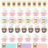 Assorted Coffee Stickers