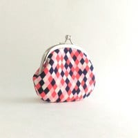 Frame Coin Purse / Change Pouch  - Cookie Book