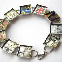 Doctor Who Universe Bracelet in Silver