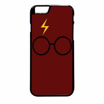Harry Potter Glasses And Lightning Bolt iPhone 6S Plus case