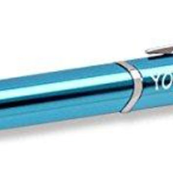 Custom Personalized Anodized Aluminum Laserline Turquoise Ballpoint Pen - Your Name Engraved