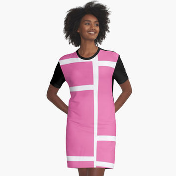 "'""geometric art 434""' Graphic T-Shirt Dress by BillOwenArt"
