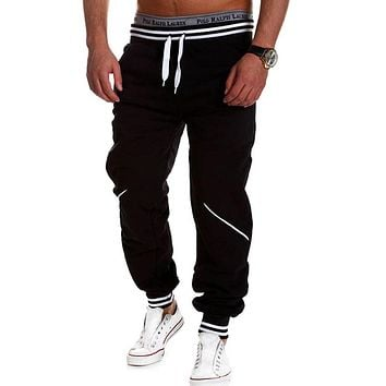 Men Pants Hip Hop Harem Joggers Pants Male Trousers Men's Joggers Solid Pants Sweatpants