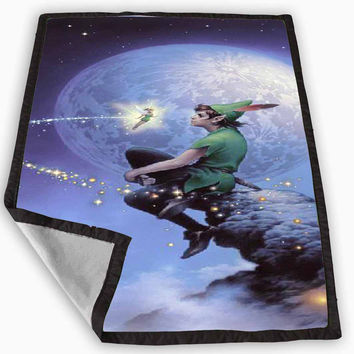 Peter Pan Blanket for Kids Blanket, Fleece Blanket Cute and Awesome Blanket for your bedding, Blanket fleece **