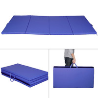 Gymnastics Mat Fitness Exercise Thick Folding Panel