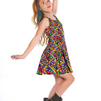 Girls Skizzles Skater Dress