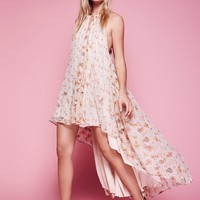 Free People Charm School Printed Dress
