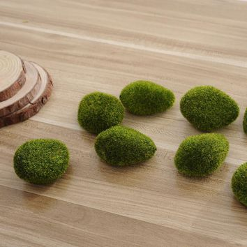 New Aquarium Foam green Moss ball 5Pcs Marimo Moss Aquarium Cladophora Underwater Fish Tank Ornament hot sale