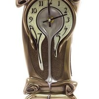 Grandfather Melting Melted Desk Clock - 8420