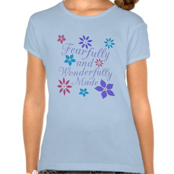 Fearfully and Wonderfully Made Floral Shirt