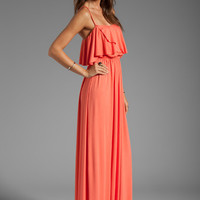 Rachel Pally Cloris Maxi Dress in Apricot from REVOLVEclothing.com