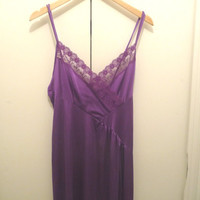 UNDERCOVER WEAR Purple Night Gown