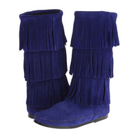 Minnetonka 3 Layer Fringe Boot