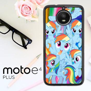 Mlp Rainbow Dash R0177A Motorola Moto E4 Plus Case