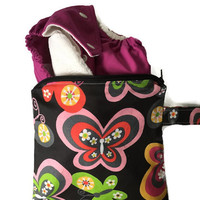 Small Wet Bag for Cloth Diaper, Make Up Bag, Small Wet Bag