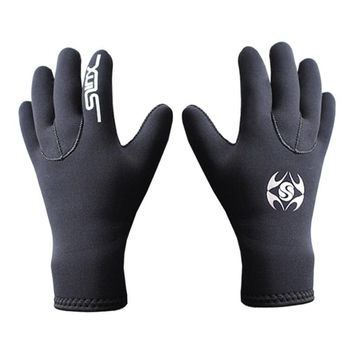 Neoprene Scuba Dive Swim Elastic Warm Non-slip Snorkel Wetsuit Gloves Snorkeling Equipment for Winter Swim Diving Spearfishing