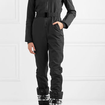 Topshop Sno - Vulcan hooded faux fur-trimmed ski suit