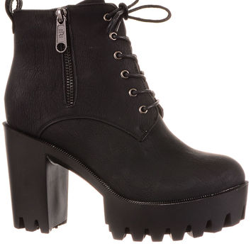 Put Some Stomp In Your Step Platform Boots