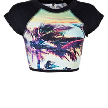 Roxy Sunset Remix Rashguard - Multi