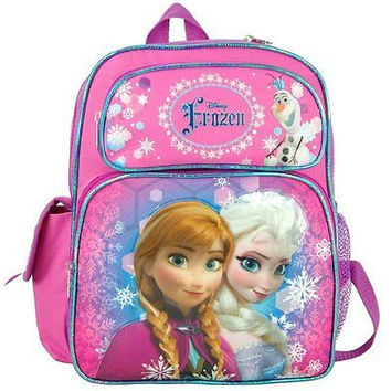 "Frozen Anna Elsa Olaf 12"" Adjustable Straps Backpack-Brand New with Tags! RARE!"