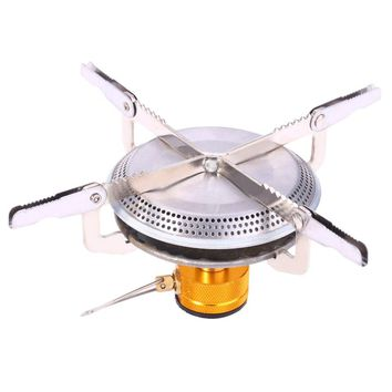 Stainless Steel Mini Camping BBQ Gas Stove