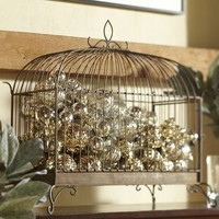 Wrought Iron Birdcage