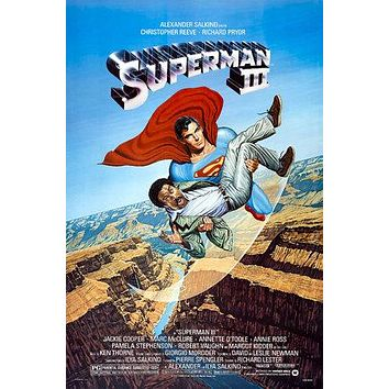 Superman III Poster//Superman III Movie Poster//Movie Poster//Poster Reprint