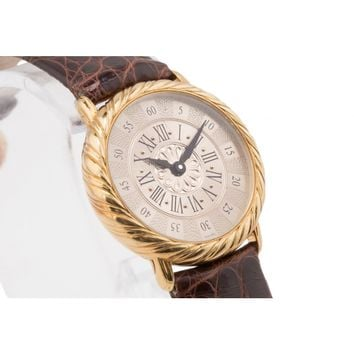 Buccellati 18K Yellow Gold Audachron Ladies Watch
