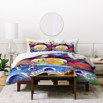 Ginette Fine Art Into The Future Duvet Cover