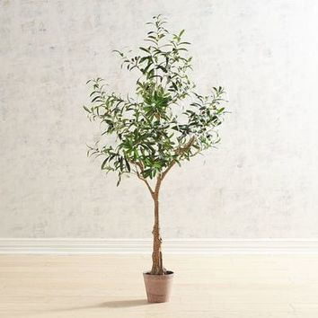 Faux 5' Olive Tree