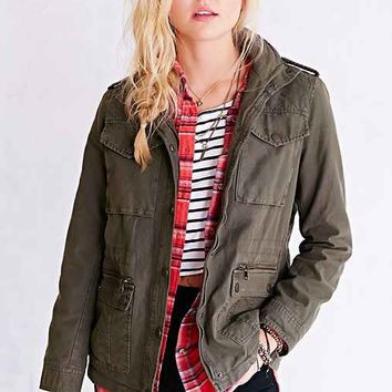 Levi's Quilted-Shoulder Surplus Jacket-