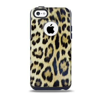 The Real Leopard Hide V3 Skin for the iPhone 5c OtterBox Commuter Case