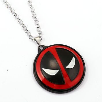 Deadpool Dead pool Taco  Choker Necklace Rotatable Pendant Men Women Gift Movie Anime Jewelry Accessories YS11531 AT_70_6