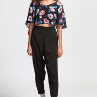 Jules Flower Blouse