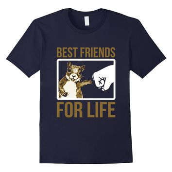 Kids Squirrel Best Friend For Life Shirt- Funny Squirrel Tee