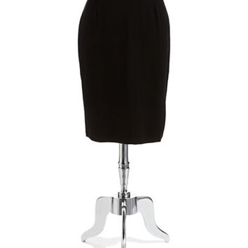Eileen Fisher Plus Plus Back Zipper Pencil Skirt