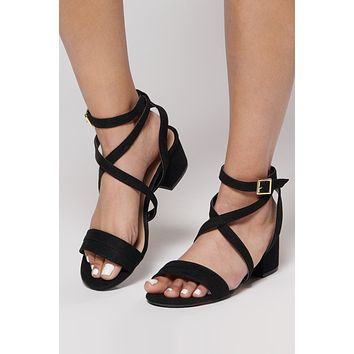 Steal Your Attention Heels (Black)