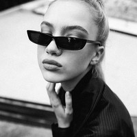 Small Frame Retro Sunglasses