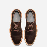 Willet Suede Cap Oxford in Java