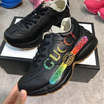 Gucci Fashion Women Casual Running Sport Shoes Sneakers Slipper Sandals High Heels Shoes
