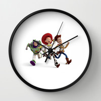 Toy Story Wall Clock by Max Jones | Society6