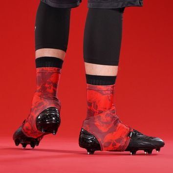 Darkness Red Spats / Cleat Covers