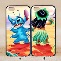 Stitch Couple,Best Friends Forever Couple Case,Custom Case,iPhone 6+/6/5/5S/5C/4S/4